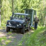 Mobile Jagdkanzel im Revier